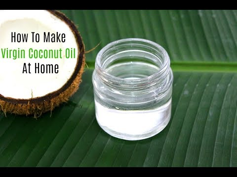 How To Make Virgin Coconut Oil At Home - Ventha Velichenna - Urukku Velichenna - Coconut Oil Recipe
