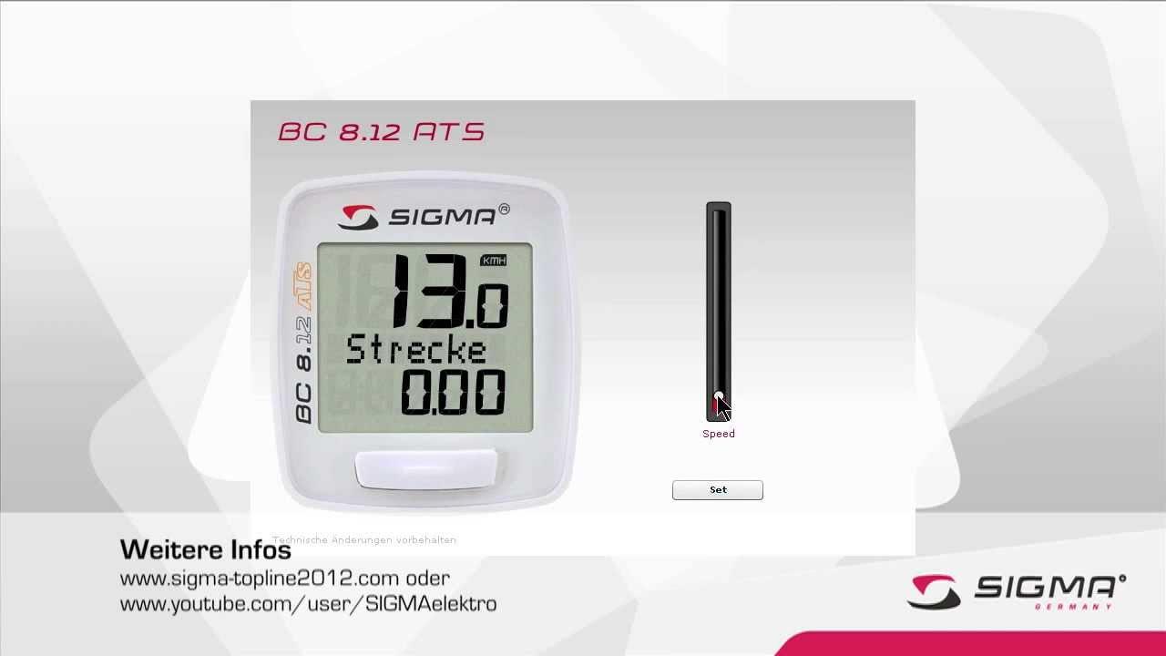Интернет-магазин велосайт. Ру предлагает вам купить беспроводной велокомпьютер sigma pure 1 ats, 03102, 5 функций: цена 2860 рублей.