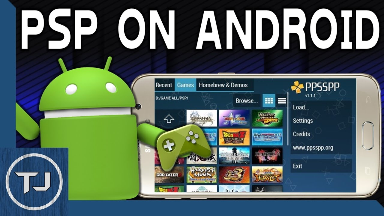 Download & Play PSP Games! Any Android Device! (PPSSPP ...