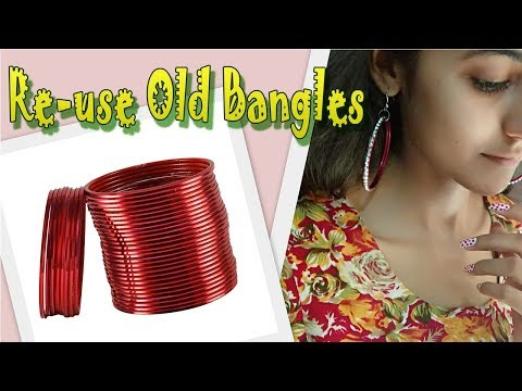 Revamp old bangles to something new | Easy project | D.I.Y.