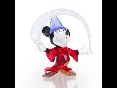 7973e7437 Swarovski Disney Figurine - Sorcerer Mickey Mouse, Limited Edition 2014,  5004740 - YouTube