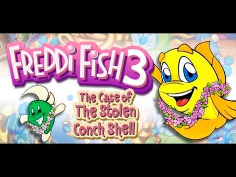 GRAB LIFE BY THE CONCH (Freddi Fish 3 Playthrough)