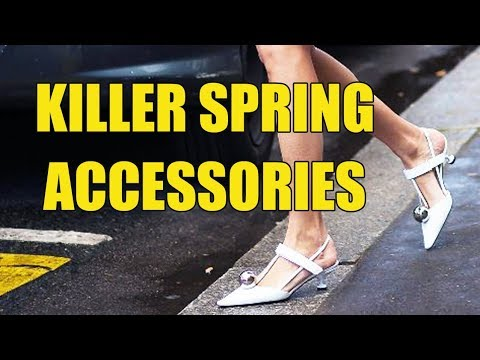 THE BEST SPRING ACCESSORIES | BAGS, SHOES, SUNGLASSES