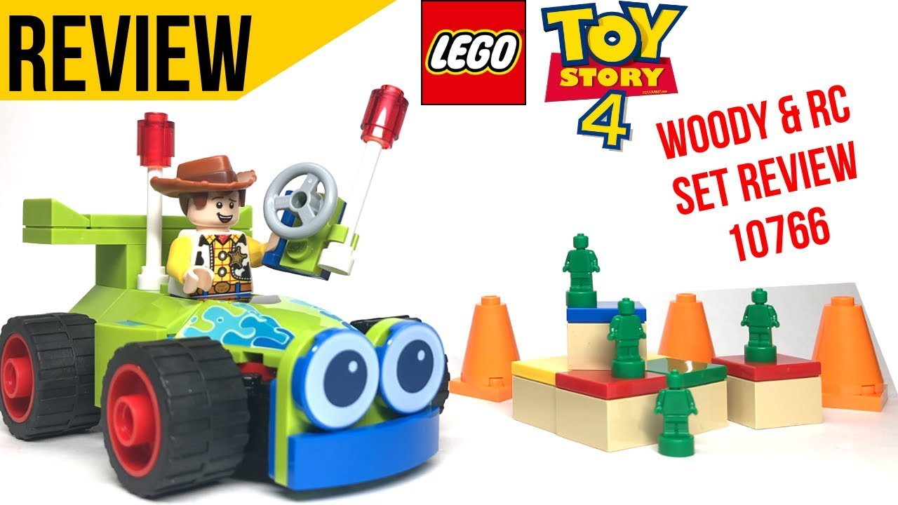 Lego 10766 Woody /& RC Toy Story 4