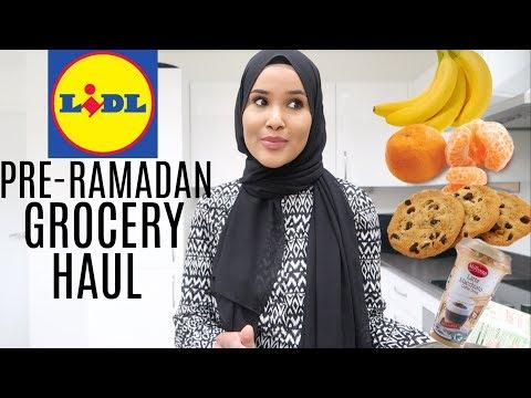 PRE RAMADAN FOOD SHOP 2018| Zeinah Nur