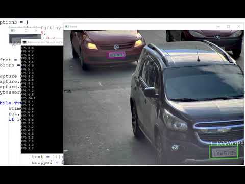 Darknet Yolo License Plate Recognize Realtime + OCR - João