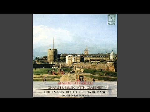 Trio For Two C Clarinets And Bassoon In B-Flat Major: III. Minuetto E Trio