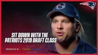 Sit down with the 2019 Patriots Draft Class: Reactions to being drafted