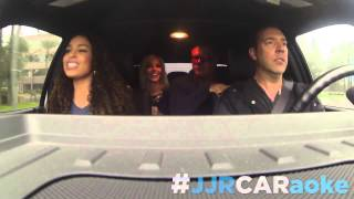 Jordin Sparks 'Uptown Funk' CARaoke Cover with Johnjay & Rich! | iHeartRadio Original
