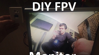 Как сделать FPV монитор своими руками из старого монитора за 18$