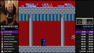 Zelda II | 100% All Keys 1CC Speedrun (1:15:15)