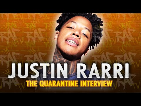 "Justin Rarri On ""Neighborhood Supplier"" w/ Stunna 4 Vegas, His Neck Tat & Kodak Being His Fav Rapper With 'Rap TV'"