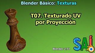 T07. Texturado UV por Proyeccion