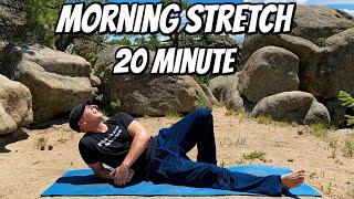 20 Min Full Body Morning Yoga Stretch (FLEXIBILITY EXERCISES) Sean Vigue Fitness