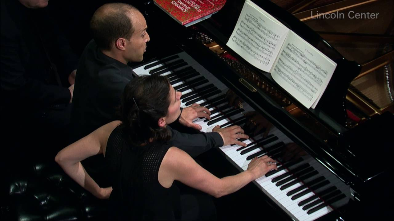 Schumann: Abendlied in D-flat major, Op. 85, No. 12 (Anna Polonsky and Orion Weiss)