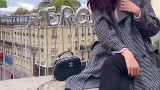 [나는마리]엘란테 체크 핸드메이드 코트