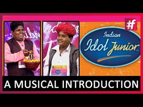 Indian Idol Junior Contestants Moti Khan & Vaishnav Girish | A Musical Introduction
