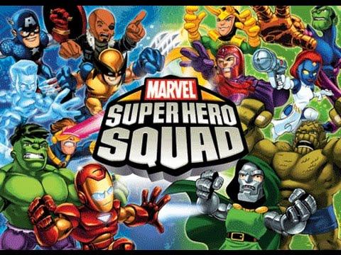 Marvel super hero squad part 2 walkthrough pc youtube - Super heros fille marvel ...
