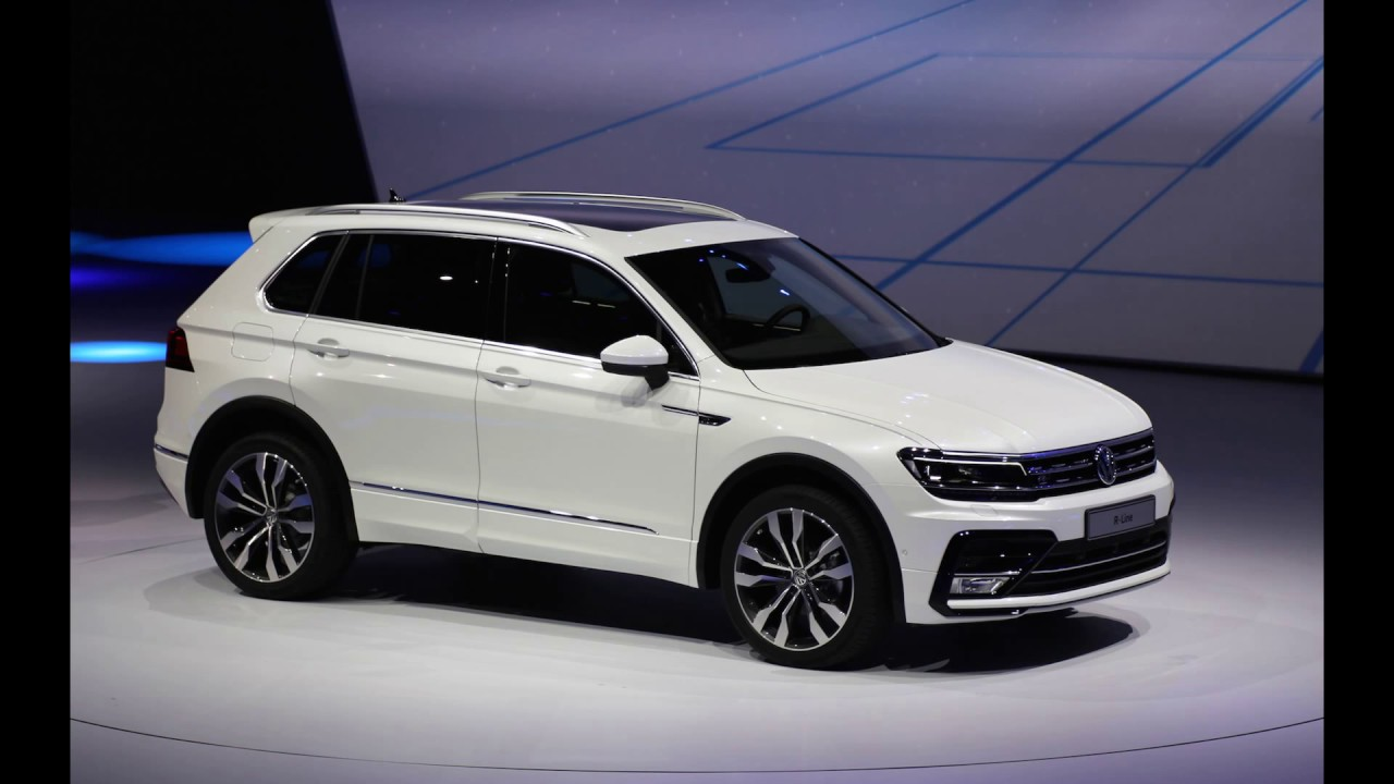 Volkswagen Tiguan 2017 Colours