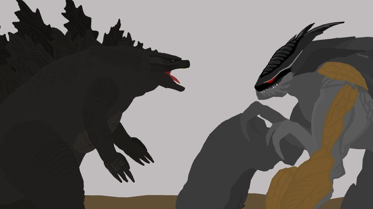 Godzilla vs MUTO Prime  |  EPIC BATTLE  |  Pivot Animation