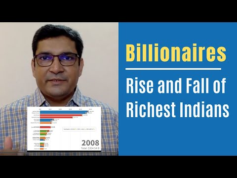 Top 20 Richest Person In India Rise And Fall Of Richest Indians From 2005 To 2019 Youtube