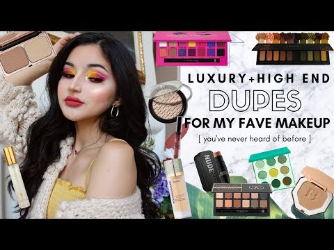 DUPES FOR LUXURY + HIGH END MAKEUP You Haven't Heard of Before ✰ Summer 2019 from YouTube · Duration:  22 minutes