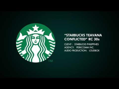 Starbucks Philippines Teavana CONFLICTED radio 30s