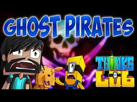 Minecraft Mods : Think's Lab - Sunken Pirate Ship! [Minecraft Roleplay]