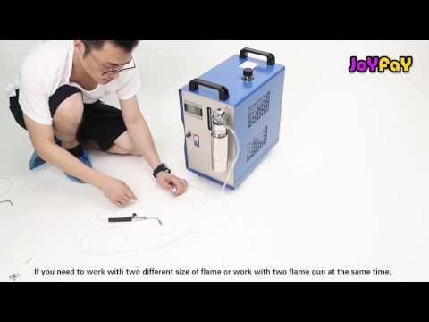 Oxy-hydrogen Water Welder Flame Polishing Metal Welding Machine