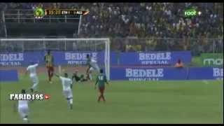 إثيوبيا 0-1 الجزائر - هدف سوداني
