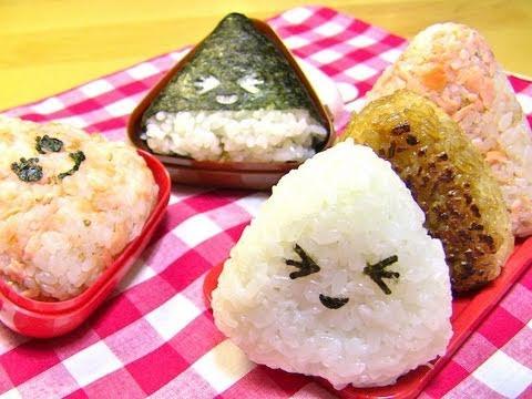 Recette japonaise onigiri au saumon sur a vos youtube - Recette soupe japonaise ...