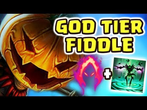 FIDDLESTICKS IS ACTUALLY GOD-TIER NOW!!! NEW RUNES SETUP IS ACTUALLY OP!! LOW ULT CD & INSANE DAMAGE