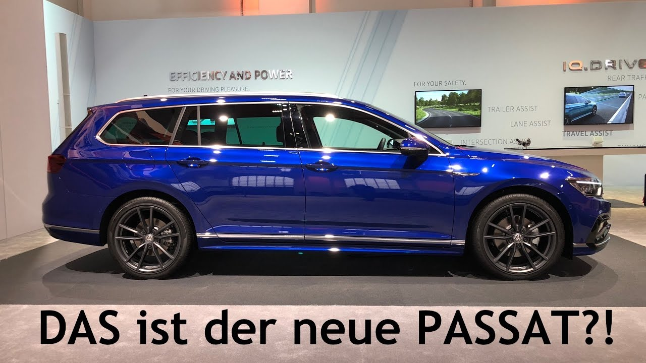 2019 vw passat variant r line alltrack gte premiere. Black Bedroom Furniture Sets. Home Design Ideas