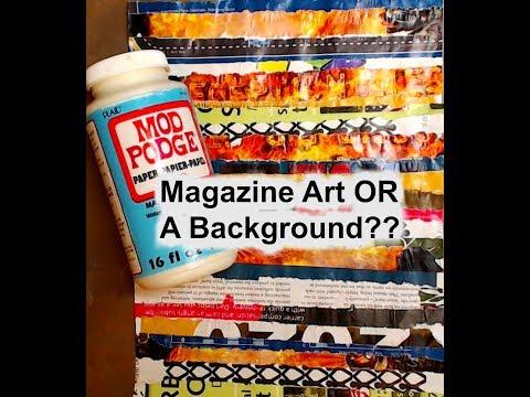 Magazine Art OR A Background??