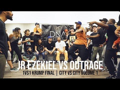 JR Ezekiel vs Outrage (1vs1 Krump Final) CITY VS CITY Volume 1