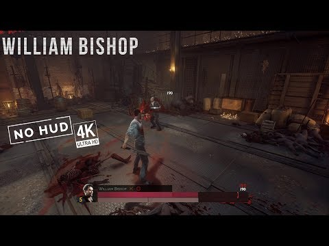 Vampyr - William Bishop Boss Fight (4K 60FPS, no HUD)