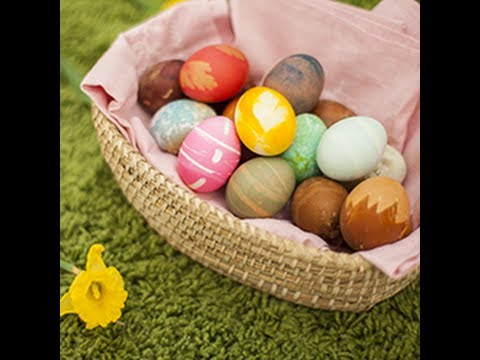 Uova di pasqua decorate come decorare le uova per la tavola di pasqua youtube - Uova decorate per pasqua ...