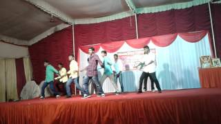 best  group dance performance for telugu songs on freshers party 2015