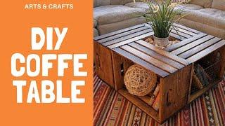 Mesa de centro para sala ( DIY COFFE TABLE)