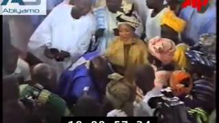 Olusegun Obasanjo Celebrates In 1998 after Abacha death