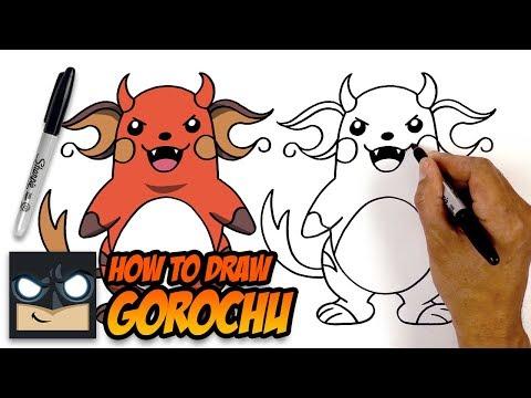 how-to-draw-pokemon-|-gorochu-|-step-by-step-tutorial