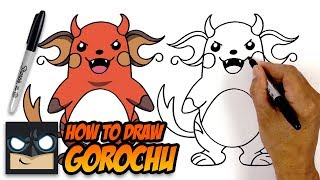 How to Draw Pokemon | Gorochu | Step-by-Step Tutorial