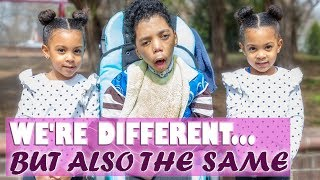 TWINS MAKE A SPECIAL NEEDS FRIEND | FROM FEAR TO FRIENDSHIP