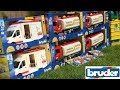 BRUDER TOYS HOT NEWS 2017 Ambulance Tank truck Garbage truck! | Kids toys | Unboxing toys
