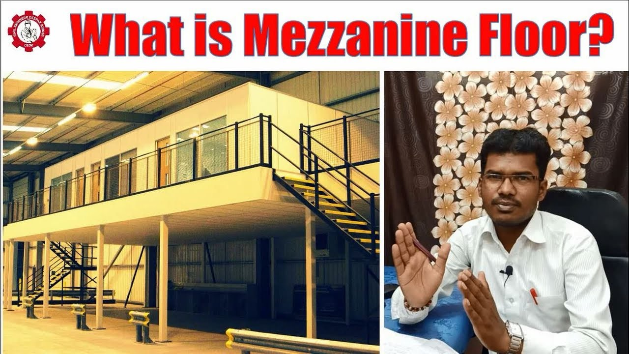 What is Mezzanine Floor? मेजेनाइन
