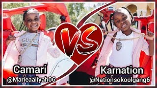 CAMARI vs KARNATION | Kids are lit 🔥 | Musically (Tik Tok) | 2018