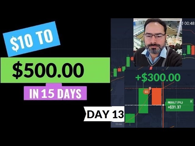 Adnan $10 To $500 In Two Weeks  - Day 13 (Real Account)
