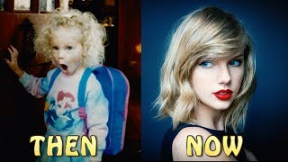 TAYLOR SWIFT TRANSFORMATION 2018!THEN AND NOW