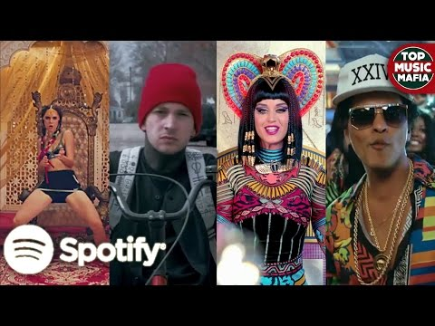 Top 100 Most Streamed Songs Of All Time on Spotify (2017)