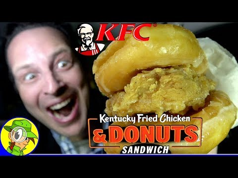 KFC® | Kentucky Fried Chicken & DONUTS SANDWICH Review 🍗🍩 | Peep THIS Out! 👴